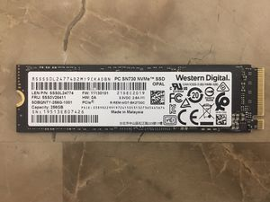 Western Digital WD 256GB SN730 PCIe NVMe M.2 SSD for laptop, desktop computer or compatible devices for Sale in Pembroke Pines, FL