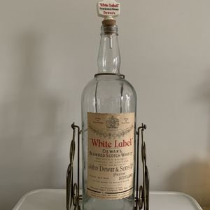 "Vintage White Label Dewar's 18"" Large Bottle Collectible for Sale in Coraopolis, PA"