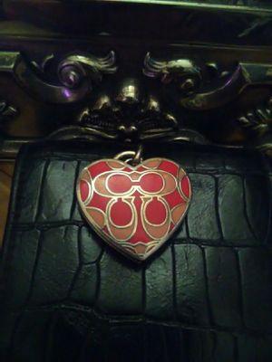 Coach heart locket for Sale in Apache Junction, AZ