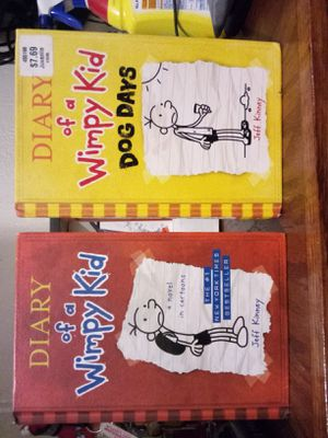 Diary of a wimpy kid books $6 each for Sale in Riverside, CA