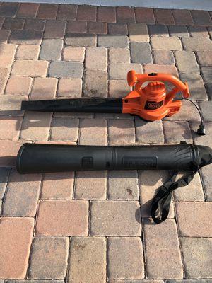 Black and Decker Blower/Leaf vacuum shredder for Sale in Orlando, FL