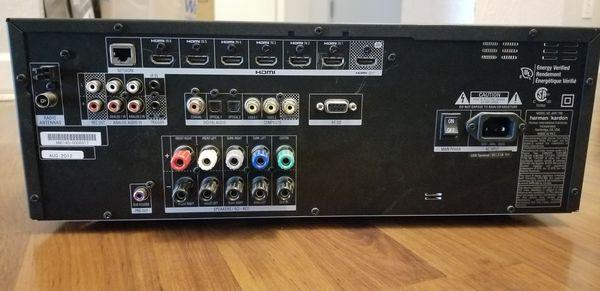 Harman Kardon AVR 1700 and 5 speaker set w/ subwoofer for Sale in Laredo,  TX - OfferUp
