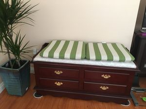 Bench with storage for Sale in Rancho Cucamonga, CA