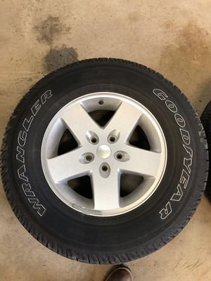 2017 Jeep Wrangler Rims and Tires for Sale in Baldwinsville, NY