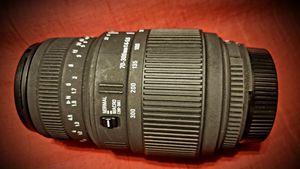 Nikon Sigma 70-300mm Lens for Sale in Duncanville, TX