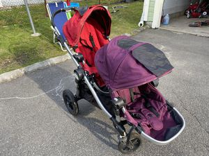 City Select Baby Jogger Double Stroller for Sale in Newton, MA