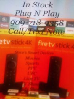 Firestick 4k Fastest for Sale in Riverside,  CA