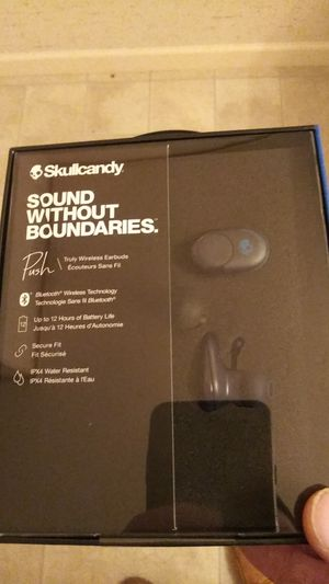 "SkullCandy ""push"" bluetooth headphones (brand new still in box, retail $129.99) for Sale in Oregon City, OR"