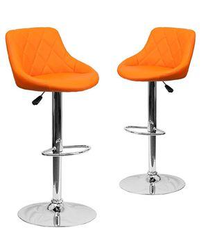Orange Stool chair for Sale in Philadelphia, PA