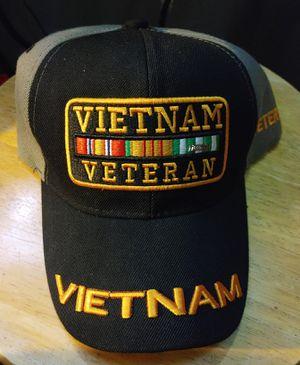 Vietnam Veteran Hat for Sale in Beaumont, CA