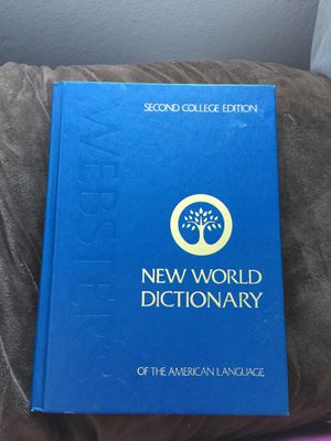 New world dictionary for Sale in Castro Valley, CA