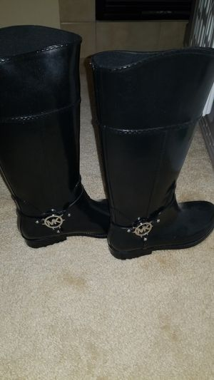 Michael Kors Rain boots Size 8 NEW for Sale in Las Vegas, NV