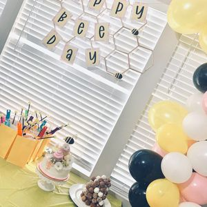 Happy bee day sign and balloon garland. for Sale in Mesa, AZ