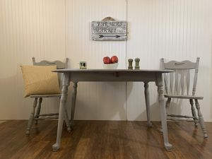 Drop leaf table and chairs for Sale in Avondale, AZ