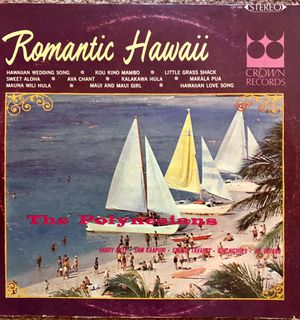 "The Polynesians ""Romantic Hawaii"" Vinyl Album $7 for Sale in Ringgold, GA"
