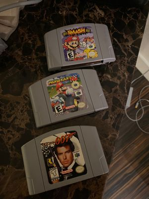 Nintendo 64 games $100firm for Sale in Miami, FL