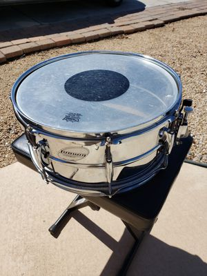Ludwig Accent deep chrome snare drum for Sale in Phoenix, AZ