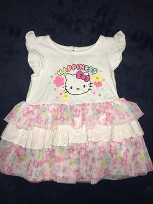 Hello kitty toddler shirt, tunic, dress size 24 months for Sale in Riverside, CA