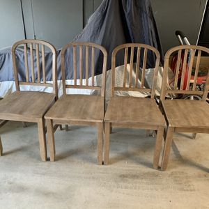Four Dining Chairs for Sale in Ivanhoe, CA