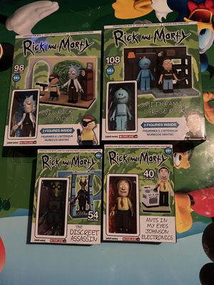 Rick and Morty Construction Sets for Sale in Clifton Heights, PA