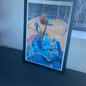 Framed with glass Russell Westbrook Poster for Sale in Issaquah, WA