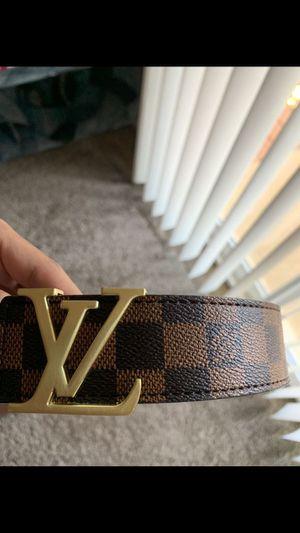 Louis Vuitton belt with receipt for Sale in Fredericksburg, VA