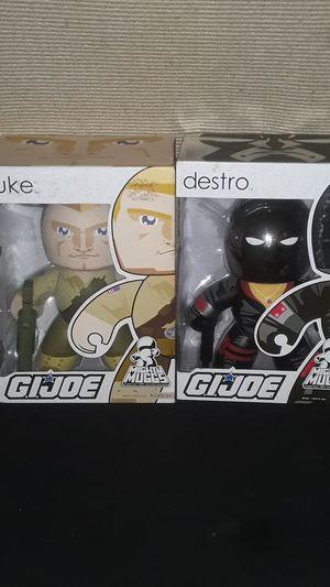 SALE GI JOE MIGHT MUGGS DUKE & DESTRO NEW IN ORIGINAL BOX UNOPENED for Sale in Providence, RI