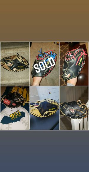 Rawlings Wilson All-Star catchers gloves mitts for Sale in Riverside, CA