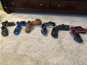 Boys shoes size 11 and 12 for Sale in Franconia, VA