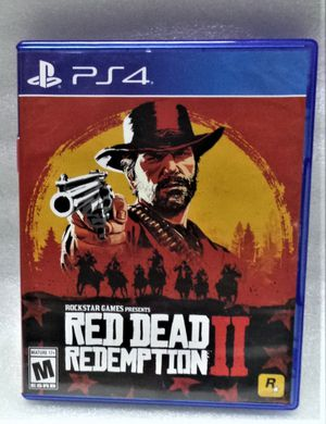 PS4 RED DEAD REDEMPTION II GAME for Sale in Clearwater, FL