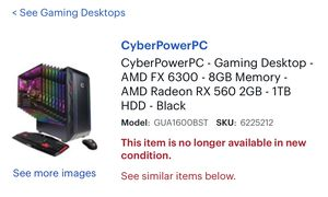 Used cyber power pc for Sale in Belleville, MI