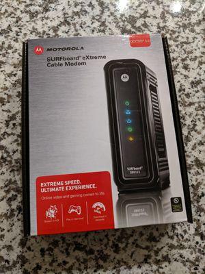 Motorola Cable Modem for Sale in Laurel, MD