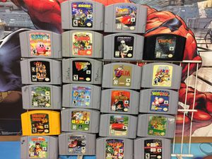 Large Collection or Nintendo 64 (N64) Games For Sale *Prices Below* for Sale in Austin, TX