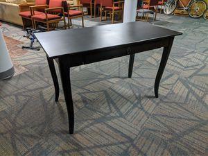 Black IKEA desk for Sale in Seattle, WA