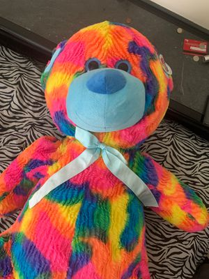 Big Colorful Teddy Bear for Sale in Chesapeake, VA