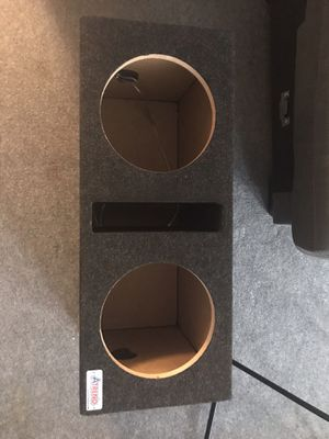 "A-Trend Dual 10"" subwoofer, Autotek for Sale in Chicago, IL"