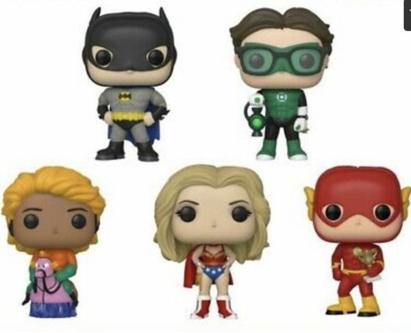Funko Pop Big Bang Theory SDCC 2019 Shared Exclusive Full Set