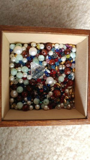 Assorted Beads/Rhine stones for Sale in Laurel, MD