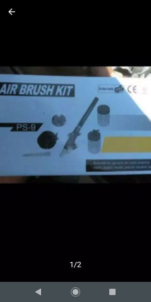 Air brush kit new $15.00 for Sale in Los Angeles, CA