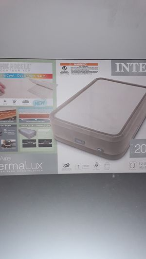 Intex air mattress queen for Sale in Clinton, MS