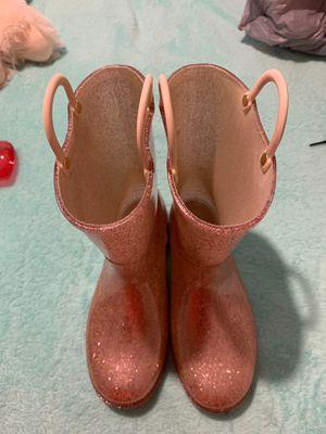 Justice Rain boots 3y for Sale in Arlington, TX
