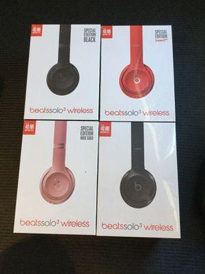 Beats solo 3 wireless headphones new for Sale in Allen, TX