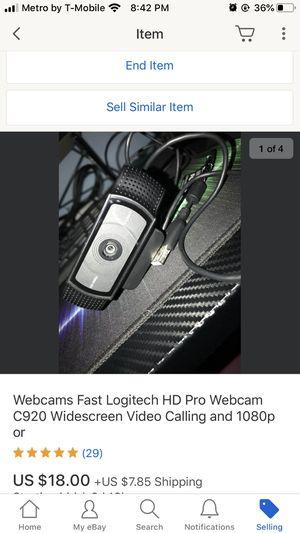 Logitech C920 for Sale in Alpharetta, GA
