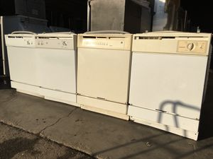 White Ge dishwasher start from $150 for Sale in Stockton, CA