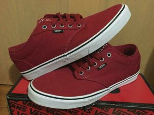 Vans Custom Shoes - Chili Pepper Red SIZE 11 for Sale in St. Clair Shores, MI