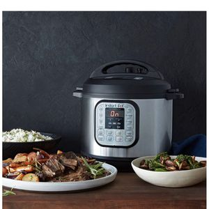 Instant Pot Duo 7-in-1 Electric Pressure Cooker, Sterilizer, Slow Cooker, Rice Cooker, Steamer, Saute, Yogurt Mak for Sale in Huntington Beach, CA