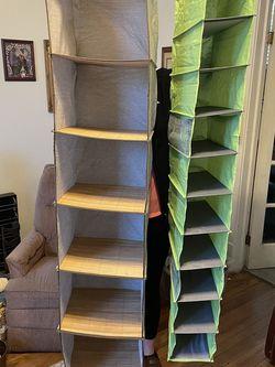 Closet Storage Organizers (2) for Sale in Dallas,  TX