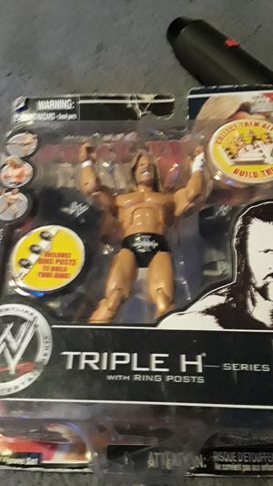 Triple H action figure for Sale in Tacoma, WA