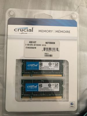 4GB kit for Notebook for Sale in Nashville, TN