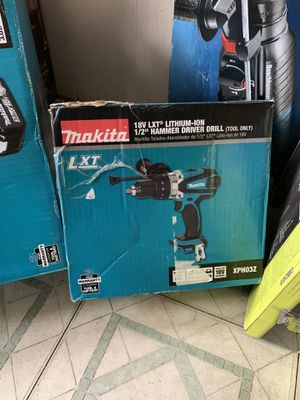 Makita hammer drill for Sale in Allentown, PA